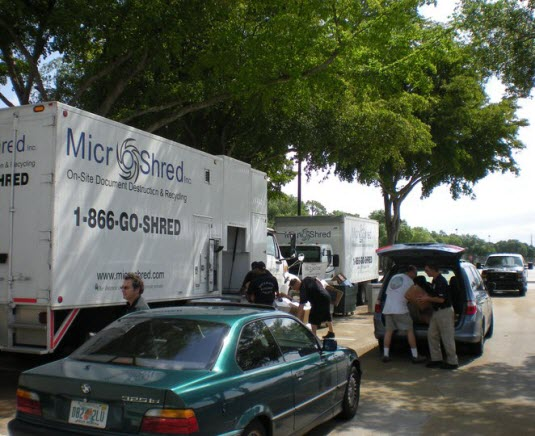 Boca Raton Shredding Event