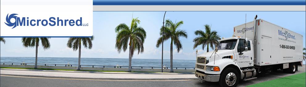 Shredding Services for Miami, Ft. Lauderdale, Boca Raton