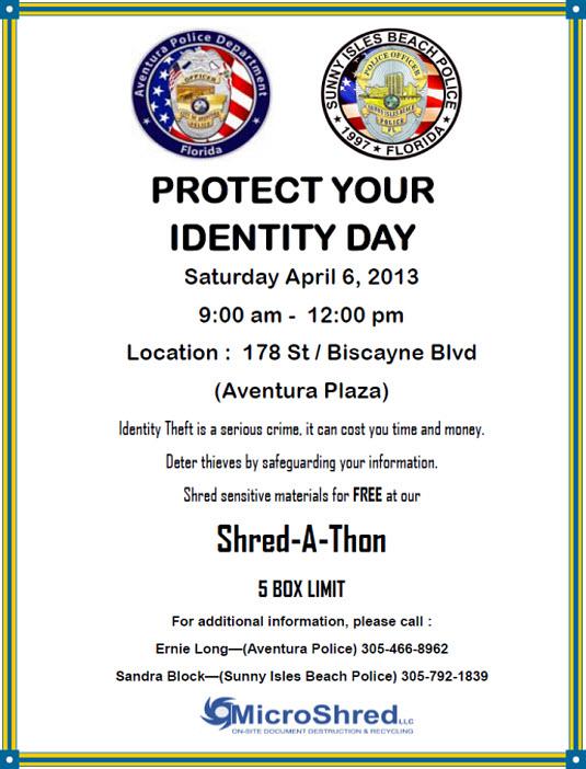 Free Miami Shredding Event