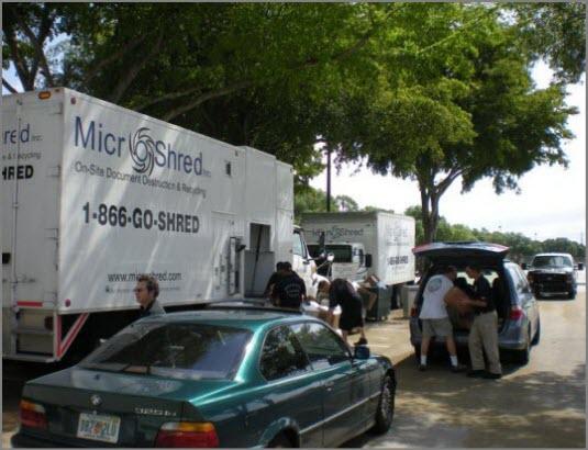 Free Shredding Event - Boca Raton 2011