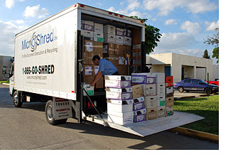Off-Site Document Shredding Service Miami, Florida