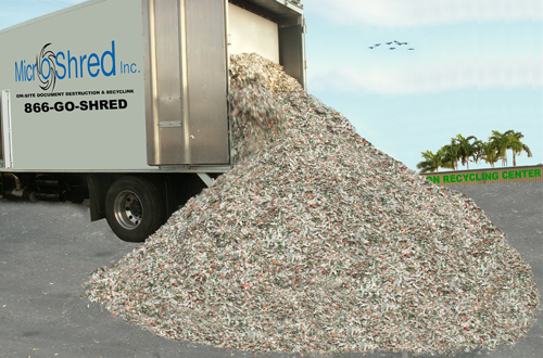 Shredded Paper Recycling Florida